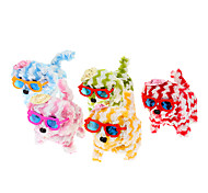 Electric Striated Dog Style Toys With Hat And Glasses For Children(Random Colour)
