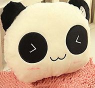 Lovely Eye-closed Pattern Panda-shaped Plush Pillow