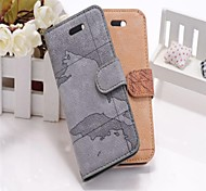 Case Pattern pochette de luxe en cuir pour iPhone 5/5S (couleurs assorties)