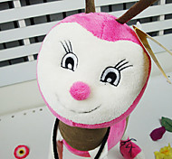 Endearing Pink Stuffed Bee Doll Gift for Children