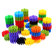 Gear-shaped Building Blocks for Kids