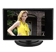 3.5 Inch Small TFT LCD Adjustable Monitor For CCTV Camera and Car DVR with AV RCA video Sound Input