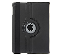 360 Degree Rotating PU Leather Smart Case with Card Slot for iPad Air (Assorted Colors)