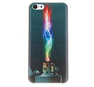 Футляр Красочный Зажигалка Pattern ПК для iPhone 5C