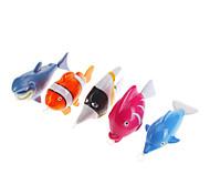 OCEAN Plastic Cochain Fish Toy (Random Color)