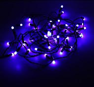 Los 5M 3W Luz Azul 50-LED Luz de tira del LED (220)
