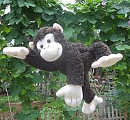 Cute Dark Brown Hanging Stuffed Monkey Doll Gift