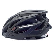 MOON Cycling bike helmet 21 Vents Black PC/EPS  Protective Ride Helmet