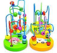 Children Baby Educational Wooden Mini Around Beads Game Toy
