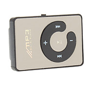 Mini Portable Mp3 Player Support TF Card with Mirror Clip (Assorted Colors)