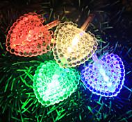 5M 3W 50-LED Love Shaped LED Colorful Strip Light (220V)
