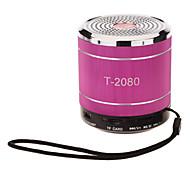T-2080 Portable Mini Speaker Support TF/USB(Red)