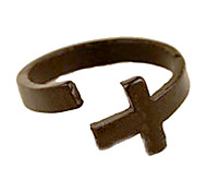 Cross Open Ring