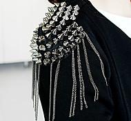 European Rivet Tassel Shoulder Accessories