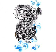 5 Stück Drache Wasserdicht Tattoo (10,5 cm * 20,5 cm) HM058