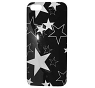 Black and White Star Pattern Back Case for iPhone 5/5S