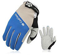 CoolChange Cycling Anti-skid Blue Full Finger Gloves
