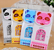 Cartoon Panda Pattern Ruler Set(Random Color,1 PCS)