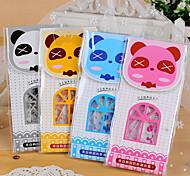 Cartoon Panda Pattern Ruler Set(Random Color,1 PCS)