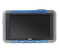 Mini portáteis em forma de retângulo TF Suporte Mp5 com FM 8GB