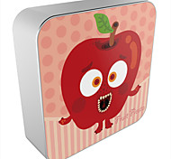 OUNUO Universal 8000mAh Frightened Cartoon Apple Pattern Portable Power Bank External Battery (5V 2A Max,20cm)