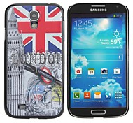 London Painting Pattern Hard PC Cas  for Samsung Galaxy S4 I9500