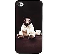 Tenga en ropa Patrón Hard Case aluminoso para el iPhone 4/4S