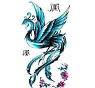 5 Stück Phoenix Wasserdicht Tattoo (10,5 cm * 20,5 cm) HM217
