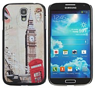 Bell Tower Painting Pattern Hard PC Cas  for Samsung Galaxy S4 I9500