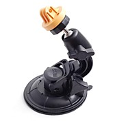 Yellow Universal Super Powerful Car Suction Cup Mount for GoPro Hero 3 / 2 / 1