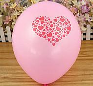 Casamento Padrão Rosa Engrosse Amor Balão decorativa