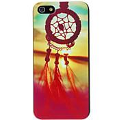 Festival Complexo Padrão Dreamcatcher Hard Case para iPhone 5/5S PC