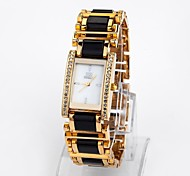 Women's Water-Resistant Dial Alloy Band Quartz Wrist Watch