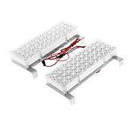 48LED Red and Blue Strobe Light