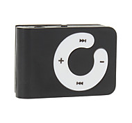 Mini Mp3 Player Portátil Suporte TF com clip (cores sortidas)
