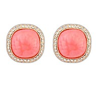Ruili Exquisite Earrings Square Temperament