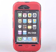 Duty Case for iPhone 3G 3GS Red