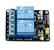 2-Kanal-5V hohe Auslöserelaismodul für (für die Arduino) (funktioniert mit offiziellen (für Arduino) Platten)