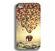 Elonbo J2S Flying Elephant Hard Back Case Cover for iPhone 4/4S