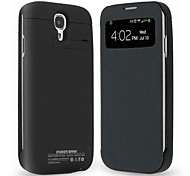 3200mAh Clip-On Mobile Power Shell protector de funda para Samsung Galaxy S4 L9500