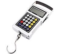 20g 50 kg LCD peso pendurado Escala relógio Bagagem Pesca