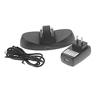 Dual Charge Station with AC Adapter for Xbox ONE Controller (Black)