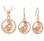Jewelry-Necklaces / Earrings(Silver Plated)Wedding Wedding Gifts