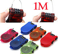 Travel Luggage Lock / Inflated Mat Coded lock Luggage Accessory Metal