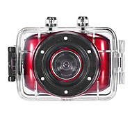 HD720p-F5R Mini Action Camcorder (Red)