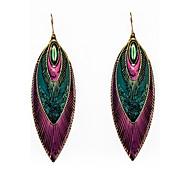 Earring Drop Earrings Jewelry Women Party / Daily / Casual Alloy / Enamel