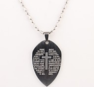Personalized Gift The Shield  Shaped Engraved Necklace