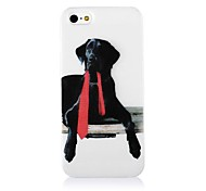 Hund Muster Silikon Soft Case für iPhone4/4S