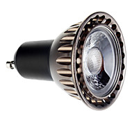 5W GU10 LED Spotlight 1 COB 400 lm Warm White AC 85-265 V