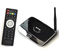 ROM TV Box de 2 GB de RAM 8GB Antena Android Ditter Quad-Core con mando a distancia
